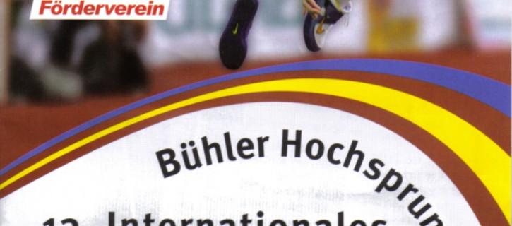 13. Bühler Hochsprungmeeting 2009