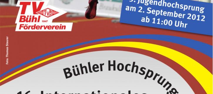 16. Bühler Hochsprungmeeting 2012