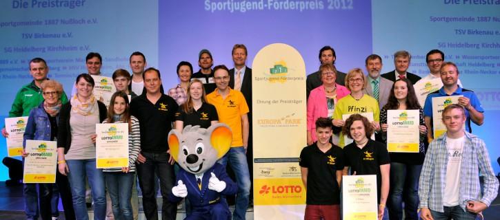 Verleihung des LOTTO Sportjugend-Förderpreises