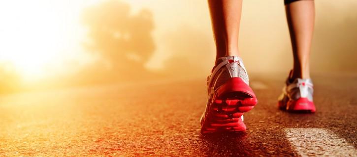 Staffellauf bei den Gesundheitstagen